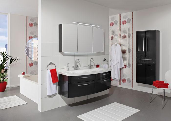 Ikea Grundtal Estante De Pared ~ Badmbelset Doppelwaschbecken Waschtisch Badezimmermbel Spiegelschrank