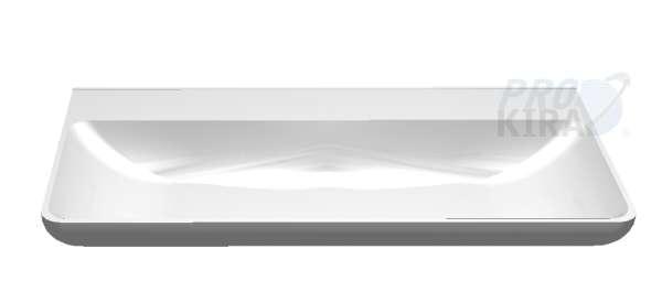 """PELIPAL Pineo Keramik-Waschtisch """"Belo"""", Weiß / SWT 201201-970 / B: 100 cm"""