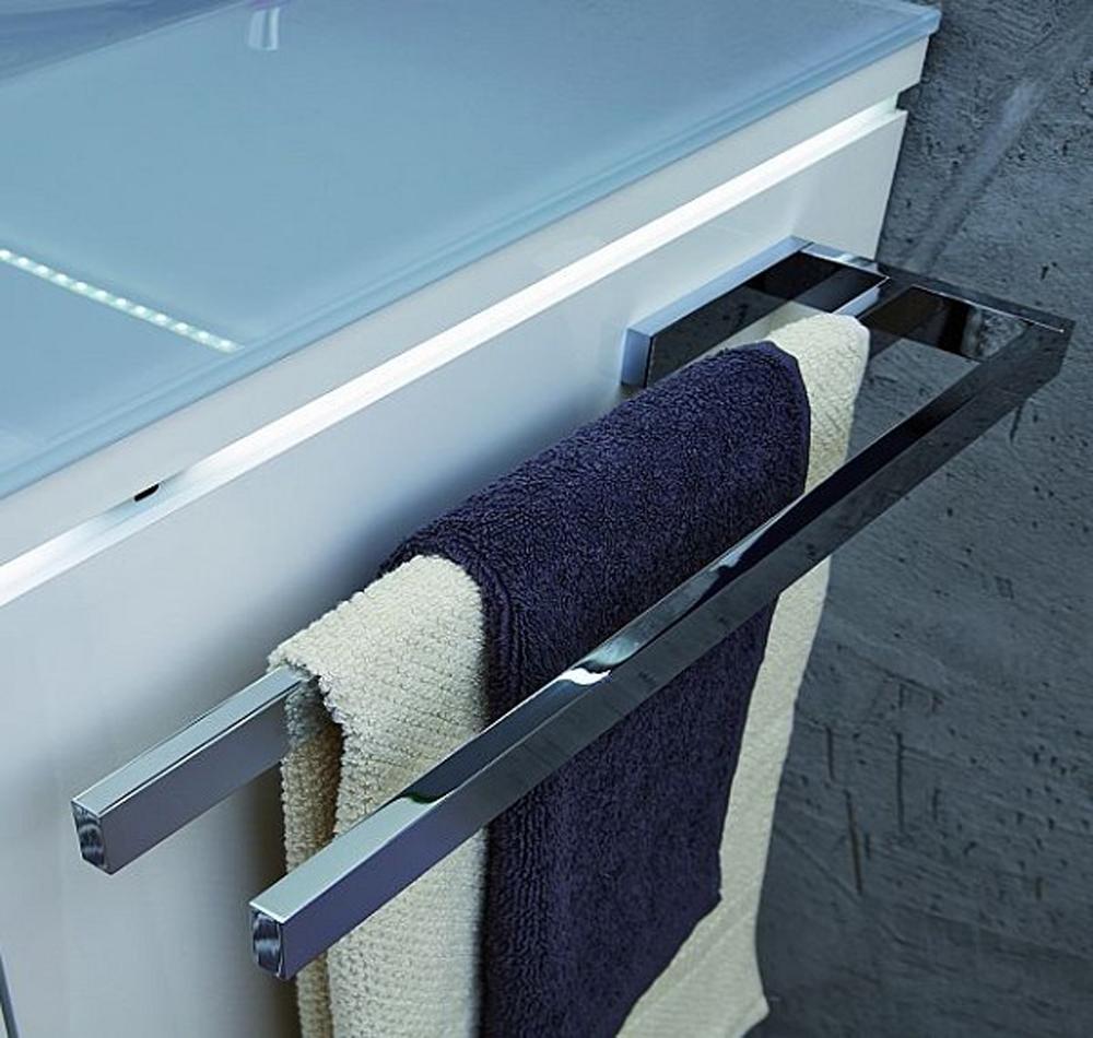 Großartig Puris PZ11281 Handtuchhalter Chrom glänzend | ProKIRA - Küche, Bad  BH56