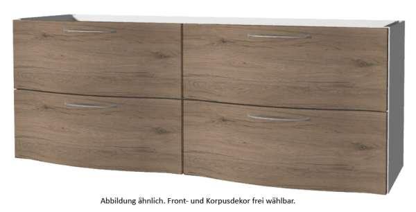 PELIPAL Solitaire 6005 Waschtischunterschrank / AG-WTUSL 04 / Comfort N / B: 137 cm