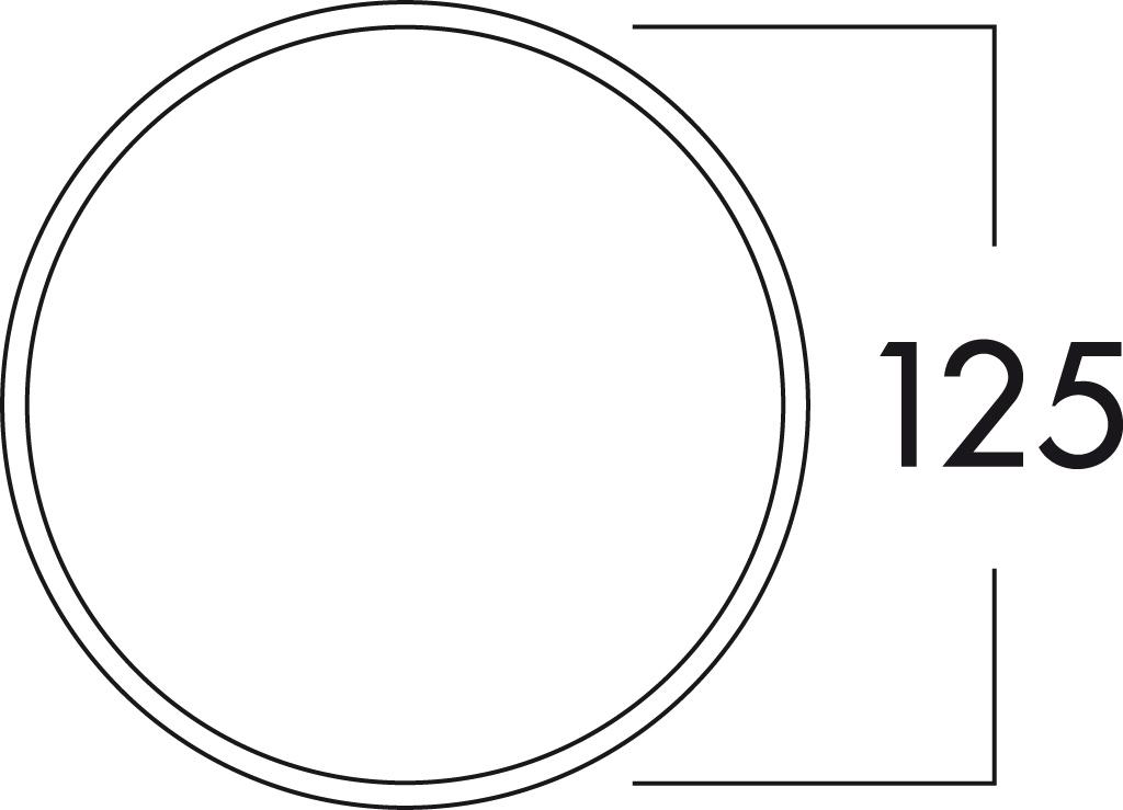 Anthrazit 125er 4021079 L/üftungstechnik NABER K-Jal 125 Au/ßenjalousie
